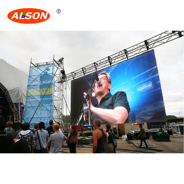 hd p8 big outdoor led <strong>video</strong> wall for publicity rental events