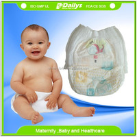 healthy non-woven Baby Diapers