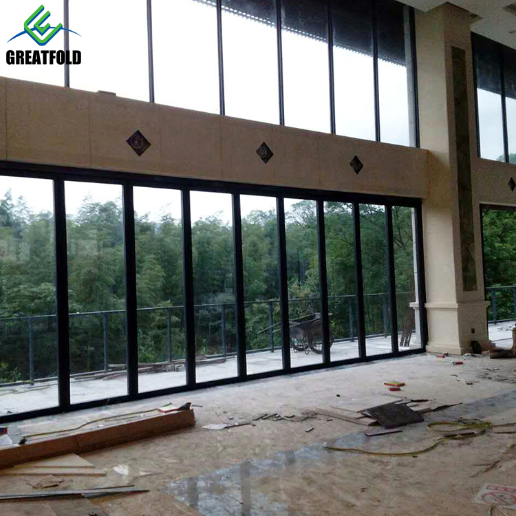 Free Cad Drawing Movable Dividing Used Office Glass Partitions for Restaurant