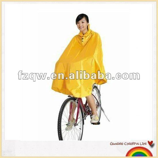 high quality bike raincoat