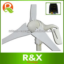Low wind power generator, combine with wind/solar hybrid controller(LED display).