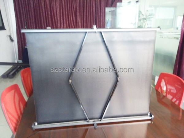 Mini Portable Projector Screen : Portable projector film mini screen projection