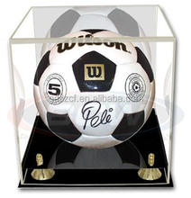 Chinese professional customizing acrylic soccer ball display case