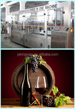 red wine making factory/sweet red wine /liquor glass bottle 1L