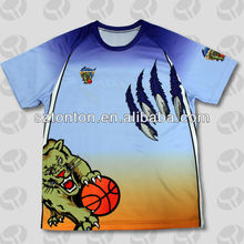 Sublimated custom T-shirt hot sale 2012