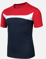 T039 Fashion Blouse Men's T Shirt Summer Style Sport Short Sleeve T-shirt Quick Dry Man Tshirt