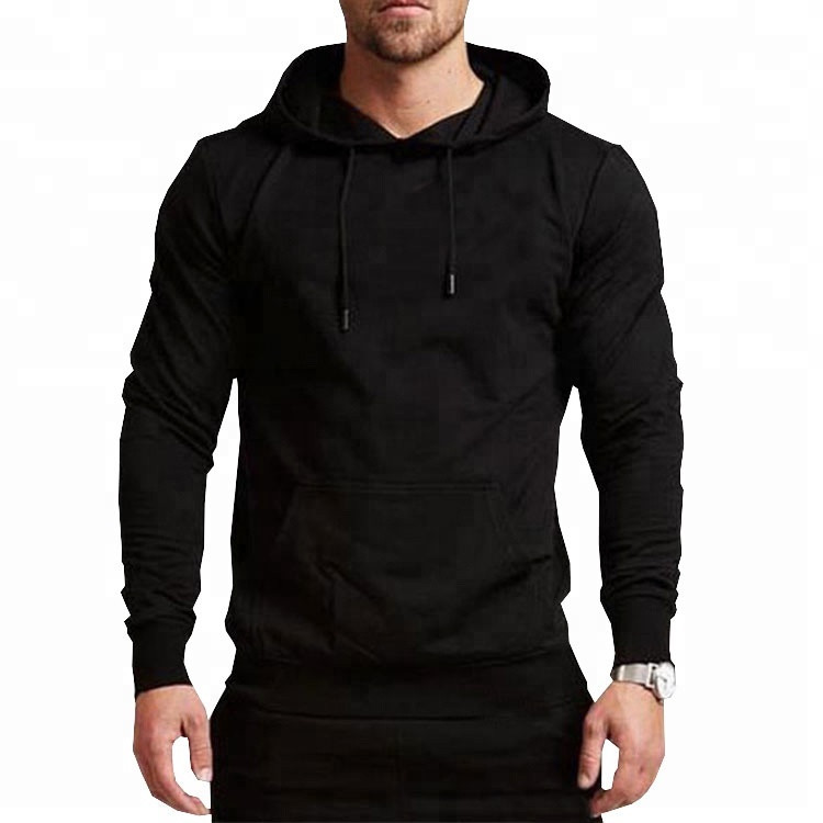 Hot Sale Blank Cheap Custom Sweatshirt No Minimum Sports Gym Pullover Hoodies For <strong>Men</strong>