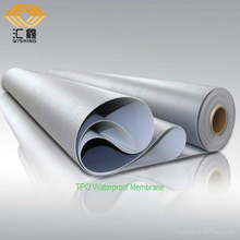 1.2mm colored pvc waterproof membrane for roofing