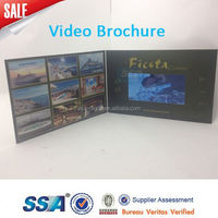 Customorized ,4.3 inch lcd digital video greeting card /business video card