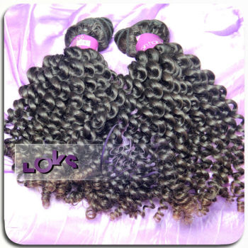 Wholesale no processed virgin soft Mongolian kinky curly hair hot sale