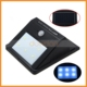 6 LED Motion Sensor Solar Power Pathway Step Lamp Outdoor Waterproof PIR Solar Panel Night Light