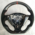 Carbon fiber car steering wheel for Nissan Tiida