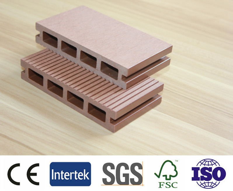 Waterproof interlocking composite decking, wpc decking, decorative floor, antiseptic wood plastic composite board