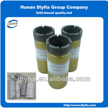 T2 66 thin wall Surface core drill bit