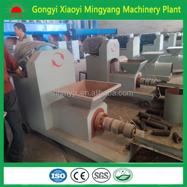Gold supplier bamboo wood sawdust peanut shell briquette machine 008615803859662