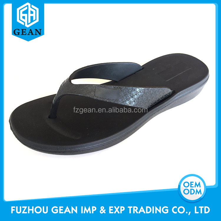 Ladies' Promotional Injection EVA Material Cheap Plastic Flip Flops