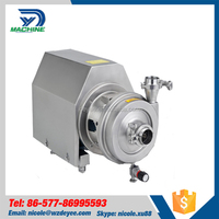 High Performance Sanitary stainless steel centrifugal pump for water , italian water pumps