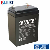 Best 6v 3.8ah sealed lead acid rechargeable ups battery
