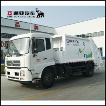 Factory Rear Loader Waste Collect Municipal Sanitation Garbage Compactor Trucks