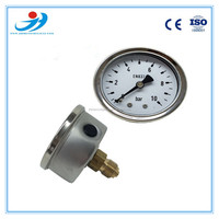 Y60-PT287 wika type pressure gauge stainless steel case bourdon tube type pressure gauge manometer with CE