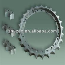 Bulldozer sprocket segment group for komatsu