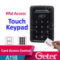 Newest touch access control ID card access control connect WG26 reader access control