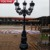Decorative Five Buld Cast Iron Lamp