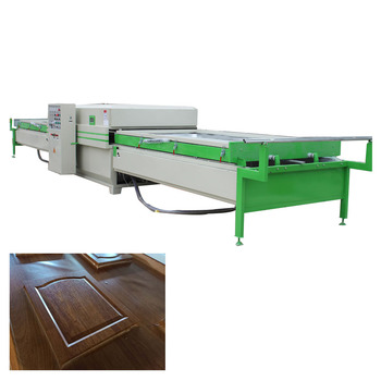 automatic vacuum press machine /PVC vacuum Membrane Press machine for  MDF Doors