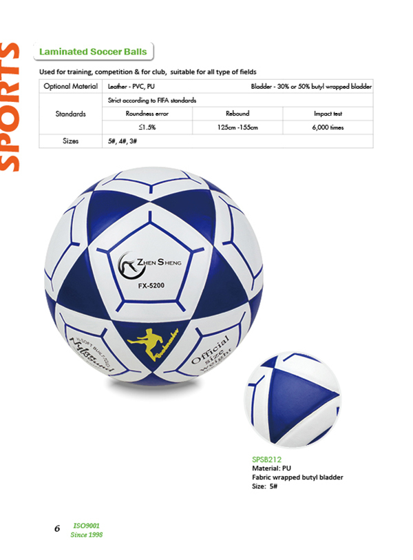 Zhensheng world cup soccer ball