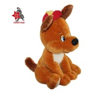 Christmas New year gift soft animals plush dog toy for kids