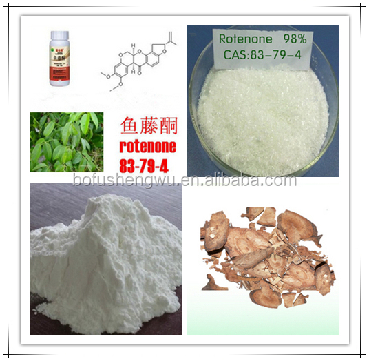 Factory Supply Pure Rotenone Extract Powder