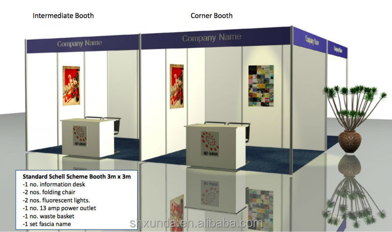 Standard Exhibition Booth : Standard trade show booth stand buy