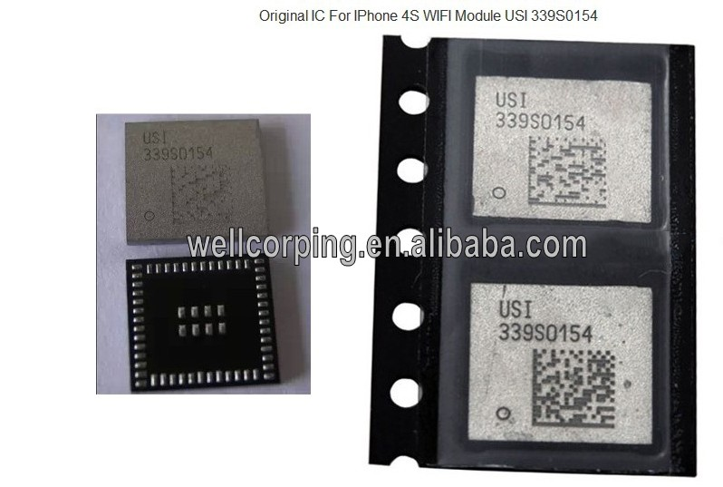 High quality original Wifi module USI 339S0154 and SW 339S0154 High Temperature Resistance Wifi moudle for Iphone 4s