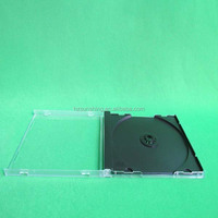 10.4mm jewel super clear single ps CD box 2014
