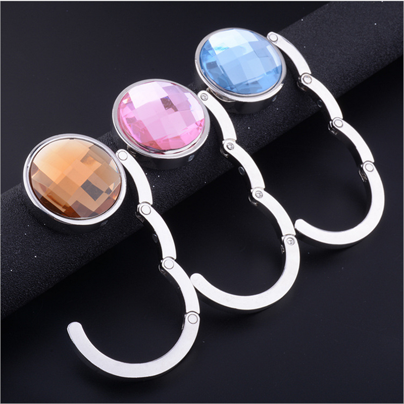 blank bag hooks Crystal Glass Bag Hooks
