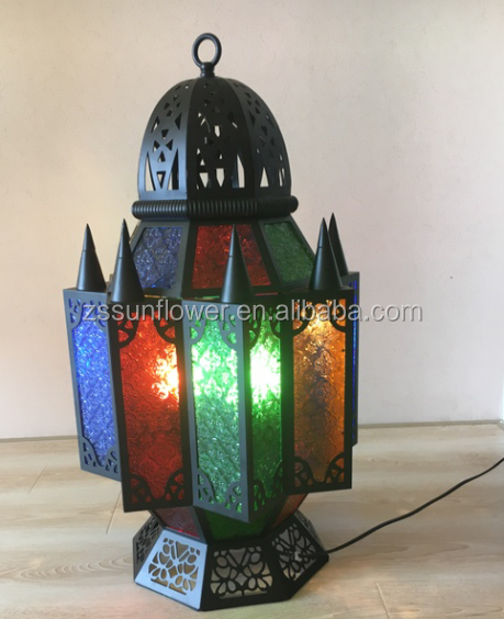 Arabic antique design floor lamp for aisle decoration