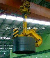 Single-arm vertical coil clamp C Hook for steel coil