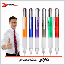 Hot novel design product customized multicolor plastic ball pen