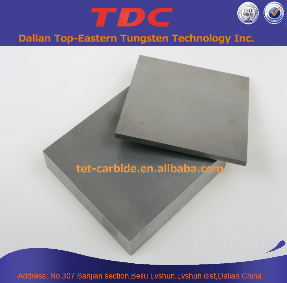 Tungsten carbide plates blank raw material