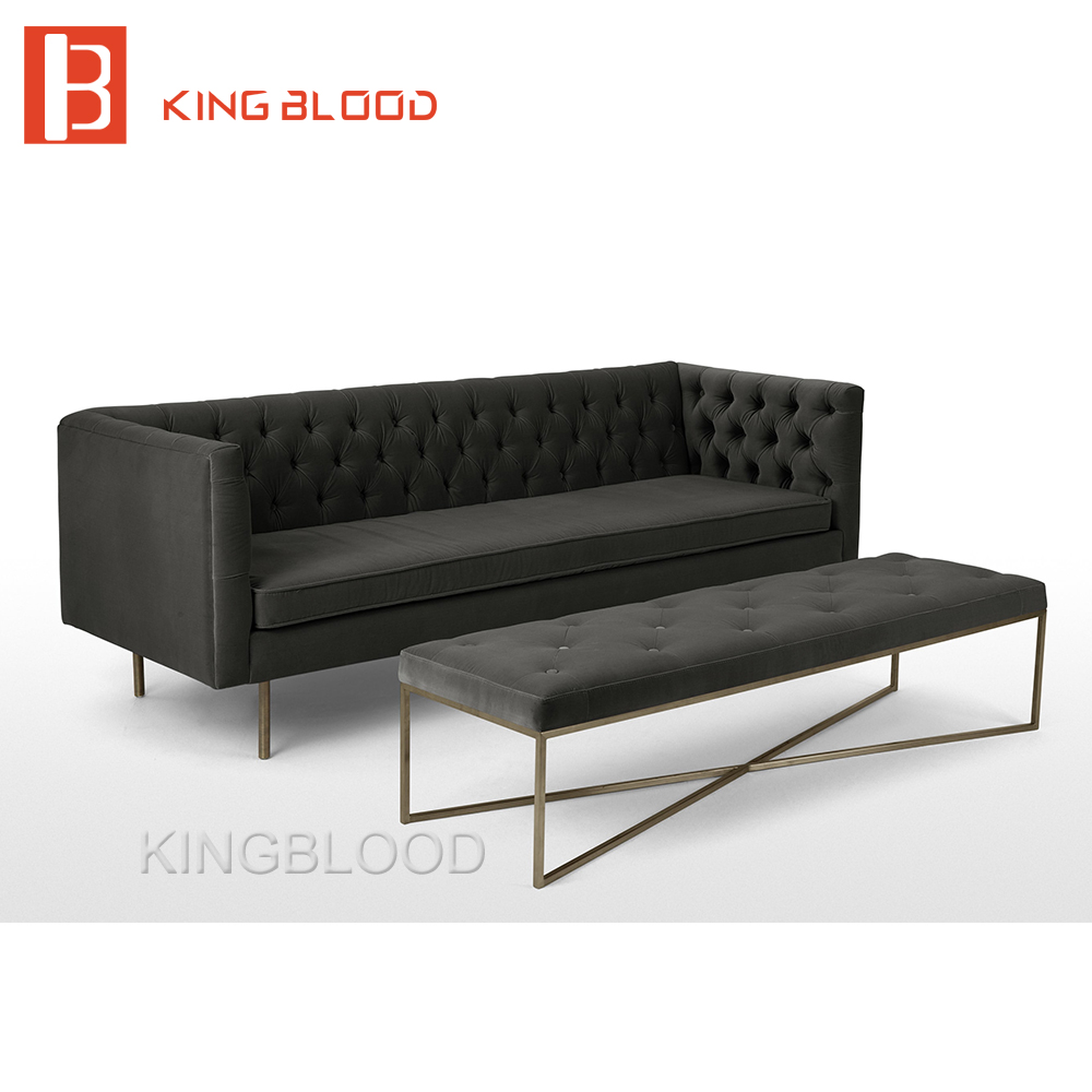 Latest Fashion Luxury Black Color Velvet Sofa Set Designs For Living Room -  Buy Luxury Sofa Set,Latest Living Room Sofa Design,Fabric Sofa Set Designs  ...
