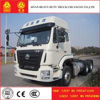 Sinotruk hohan 6*4 tractor truck for sale