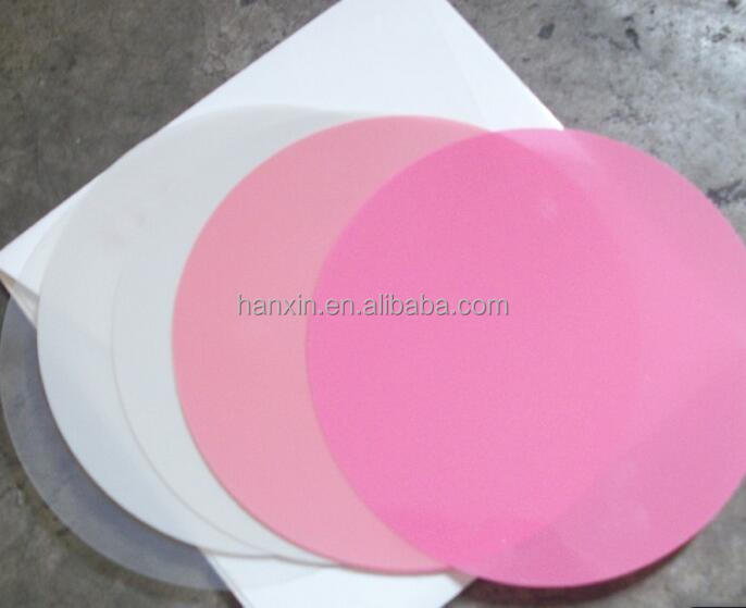 1um 3um 9um Round type fiber optic polishing films/abrasive paper