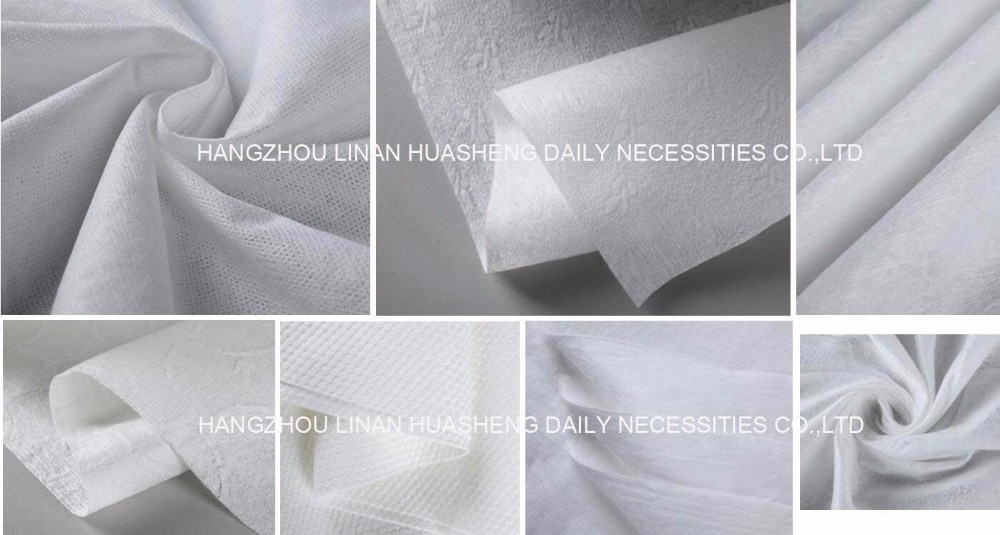 Medical care disposable Towel HS5348 wet&dry dual use tissues