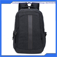 Good Quality Black Laptop Trip Bags Outdoor Vintage Canvas Hiking Backpack for Men
