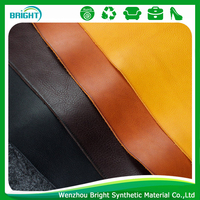 sofa synthetic leather material natural pattern for sofa PU material Upholstery leather