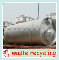 The lastest design with CE&ISO&BV waste plastic recycling plant