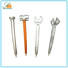 Fashionable best sell cheap resin wrench shaped ballpoint pen