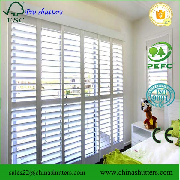 Pvc vinyl plantation shutters kits view plantation shutters kits china pro shutter product - Plantation shutters kits ...