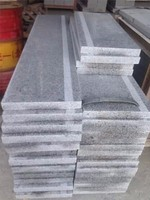 G603 Granite Stairs, Owner quarry Light Grey Granite Riser&Step