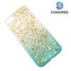 2017 Custom transparent bling soft tpu epoxy phone case for iphone 6 7